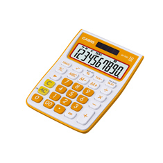 Calculadora de mesa Casio Colorful MS-10VC-OE Laranja