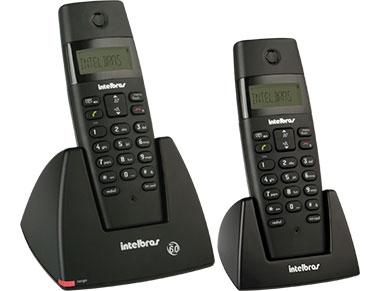 Telefone Sem Fio Intebras TS40C PT Combo