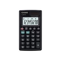Calculadora de bolso vertical Casio Card SL-797TV-BK 8 D�gitos, Solar e Bateria, Preta'