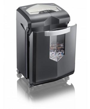 Fragmentadora de Papel Elgin FCC1223 220V corta 12 folhas em particulas 4x37mm CDs CC, 58Db, 23 Litros, Uso Contínuo sem parada para resfriamento