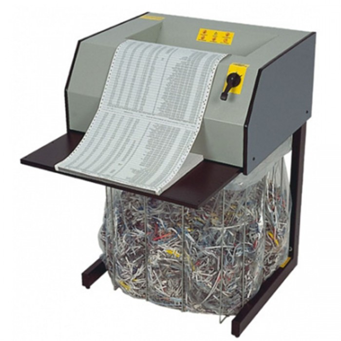 Fragmentedora Menno X27 220V- Corta 15 folhas em Tiras de 4mm, fenda 330mm, Nível de Segurança 02, Uso Contínuo