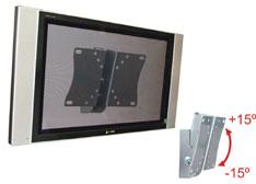 SUPORTE FIXO PARA TV LCD MULTIVISÃO STPF43 Prata
