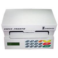 Impressora de Cheque CHRONOS Bege MULTI 31100 / ACC300 conexão serial ao computador (Semi-nova)