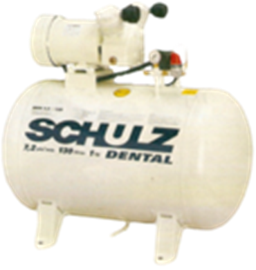 Compressor de ar Schulz MSV 7,2/130 1hp Dental Usado