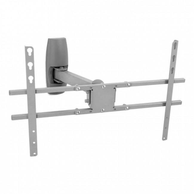 Suporte de Parede Articulado com Inclinação para TVs LCD / PLASMA / LED de 19´´ a 47´´ Multivisão STPA47 Prata