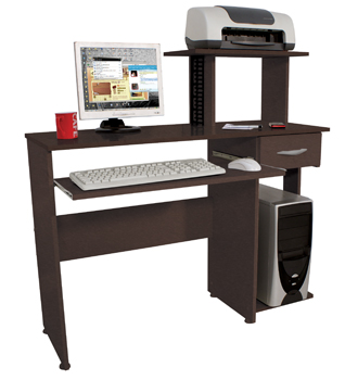 Mesa para Computador, Acessórios e Impressora Multivisão - NEW GEN PLUS Tabaco