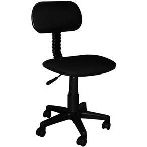 Cadeira Secretária com Regulagem de Altura a Gás CAD-X Multivisão Preto