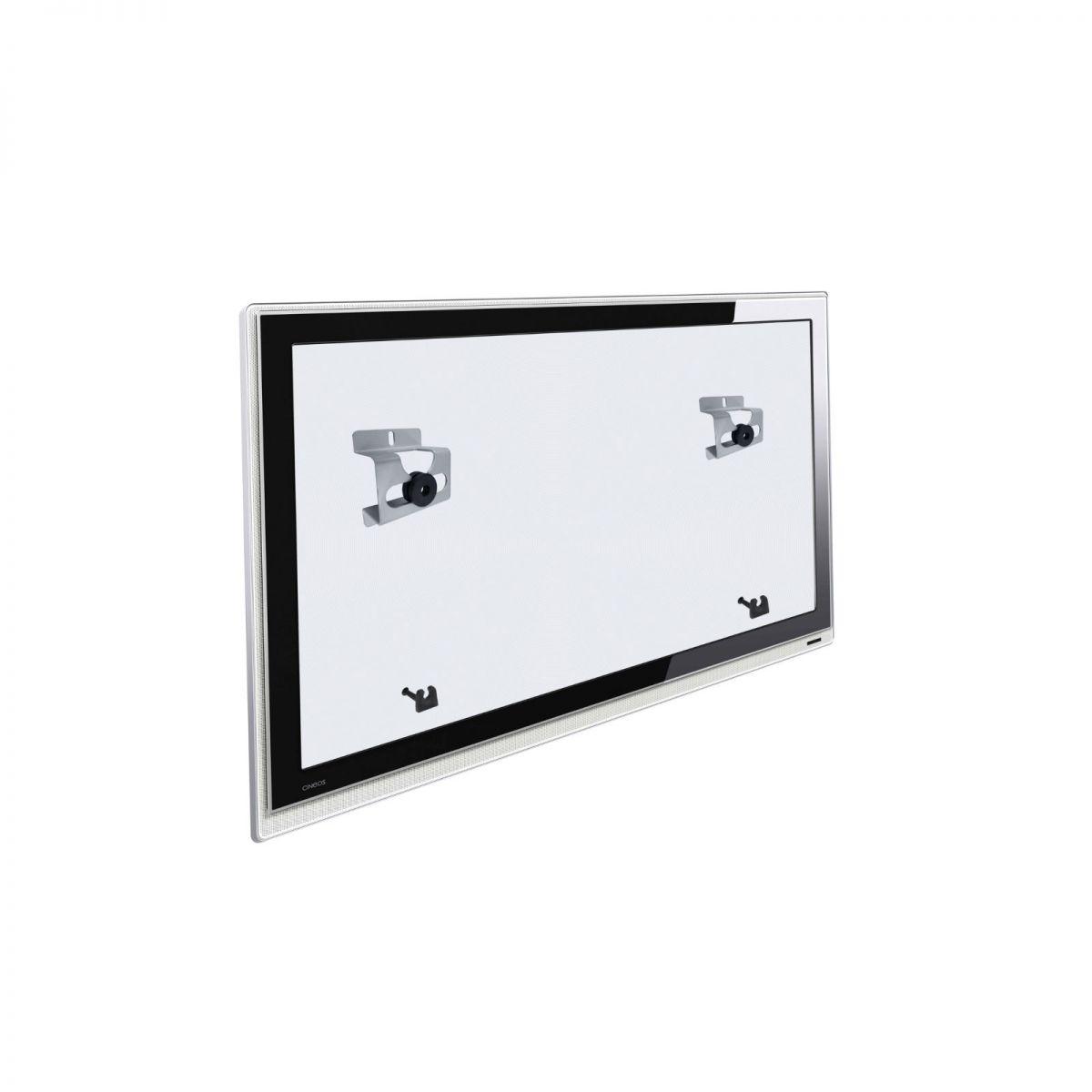 Suporte Universal de Parede Fixo p/ TV LCD Plasma Led de 10´´ a 71´´  Multivisão INFINITI PRATA