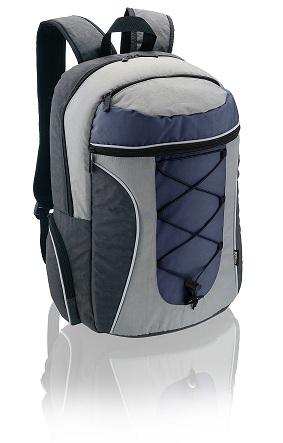 Mochila para notebook Adventure Multilaser BO090 Azul e Cinza