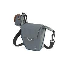 Bolsa Lowepro Compact Courier 80 para Câmera Compacta e Acessórios Cinza