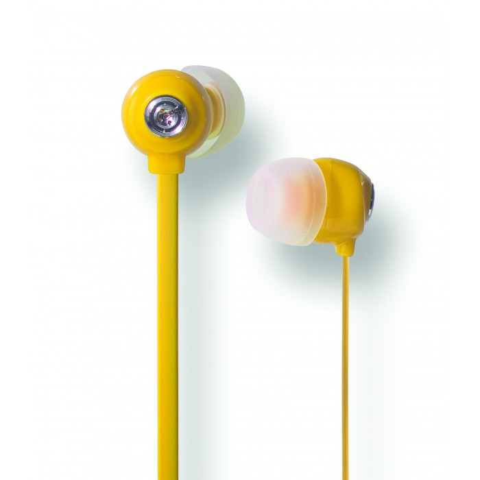 Fone de Ouvido In-Ear Youts - Candy Colors Amarelo