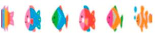 Fita Decorativa Deco Rush Fish Plus Japan 6mm