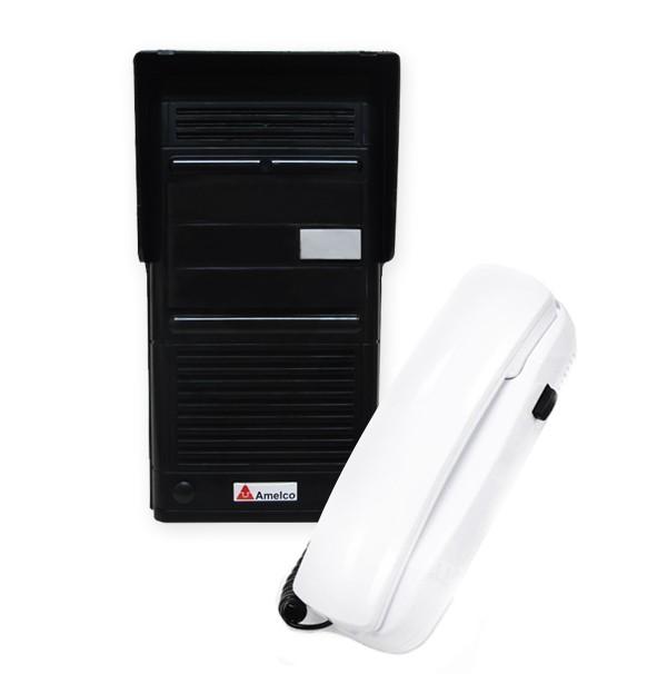 Porteiro Eletronico Residencial Amelco AM-M100 Preto