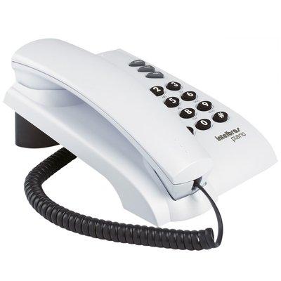 Telefone com fio Intelbras PLENO artico