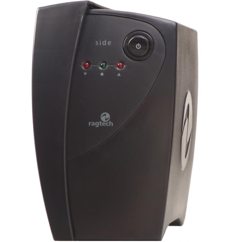 Estabilizador Ragtech side laser SDL TI Bk 60HZ 500va entrada Bivolt e saída 115v 4 tomadas