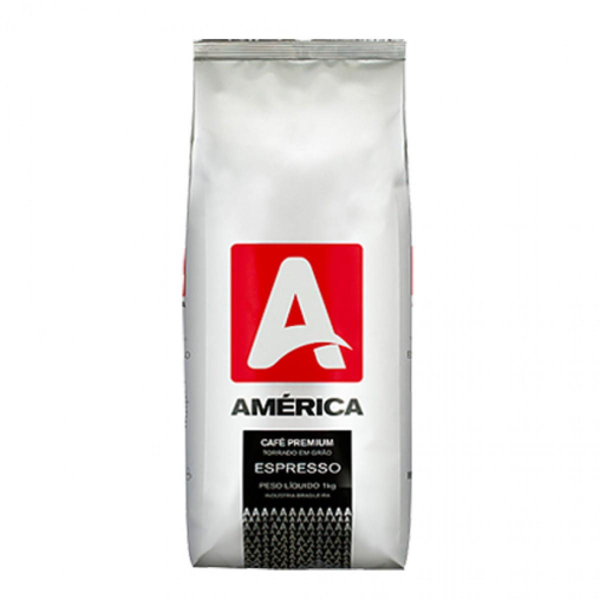 Café América Premium em Grãos 1 kilo