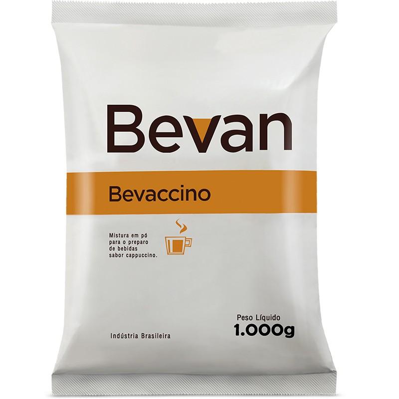 Cappuccino em Pó Solúvel Bevan Bevaccino 1 Kilo