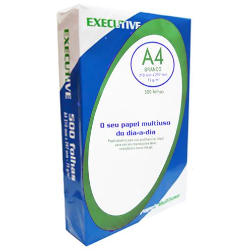 Papel Sulfite Executive A4 Branco 500 folhas