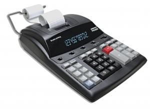 Calculadora de Impress�o  Procalc PR4000 - Calc. Imp. 12 d�g LED, cor preta,  2 cores. Impr. 4.1 l/s, bivolt autom�tico, fita (PVF) SEMI-NOVA