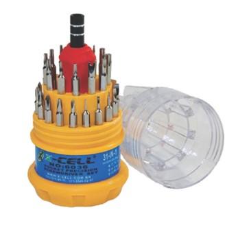 Kit Ferramentas X-CELL XC-K31X1 31 Em 1