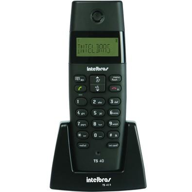 Telefone sem fio TS40R Ramal Preto