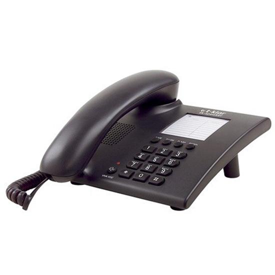 Telefone com fio T-Klar Speaker SK-1010 PRETO com Viva Voz e chave de bloqueio Outlet