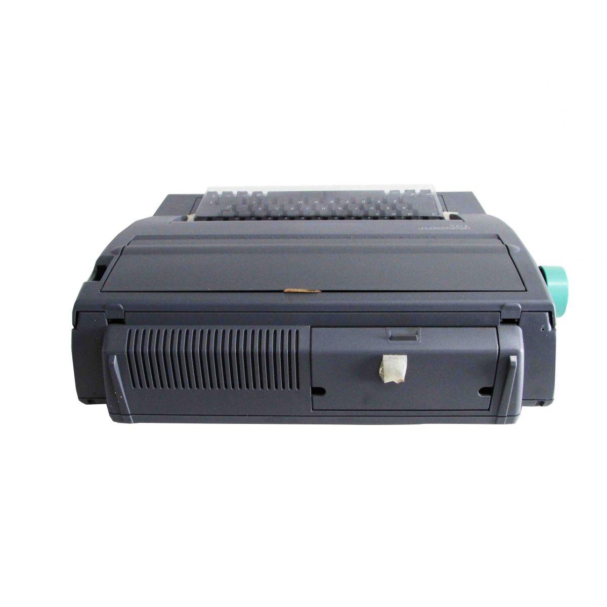 Máquina de Escrever Eletrônica Facit T125 220V Portátil Nova na Caixa