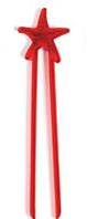 Sticks palitos Hashi infantil Estrela do mar