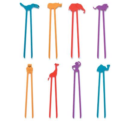 Sticks palitos Hashi infantil Zoo (uma unidade)