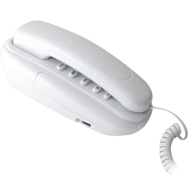 Telefone e Interfone Multitoc Baby MT10 Branco Terminal Residencial com 15 Teclas