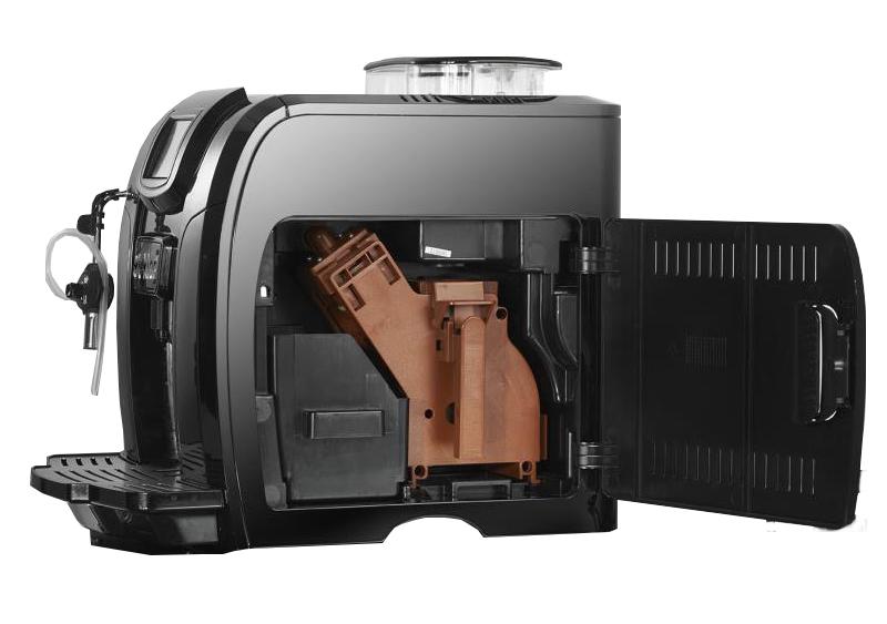 Máquina de Café Expresso T-Klar ME712B 220V Preto automática com moedor de grãos e painel touch screen