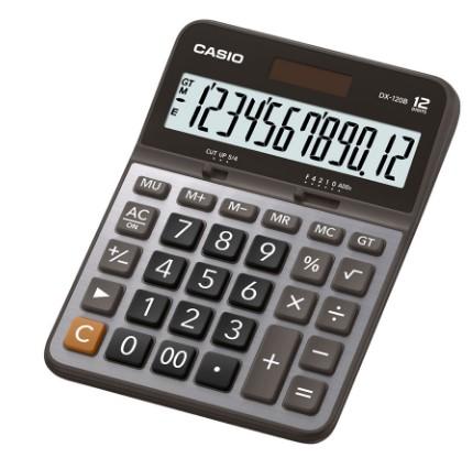 Calculadora de Mesa Séries de Valor 12 Dígitos Dx120v Casio