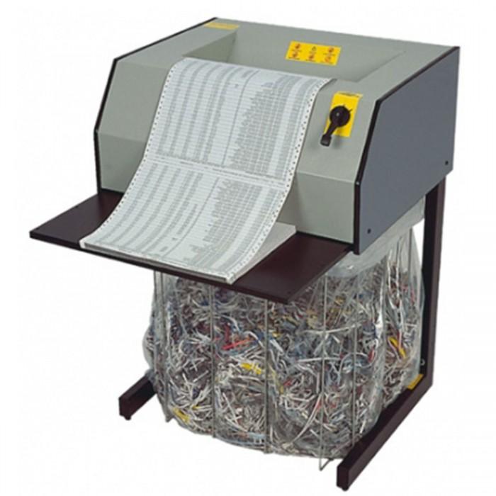 Fragmentadora Menno X27 110V- Corta 15 folhas em Tiras de 4mm, fenda 330mm, Nível de Segurança 02, Uso Contínuo