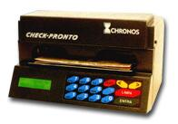 Impressora de Cheque CHRONOS MULTI 31100  Cinza com conex�o serial ao computador
