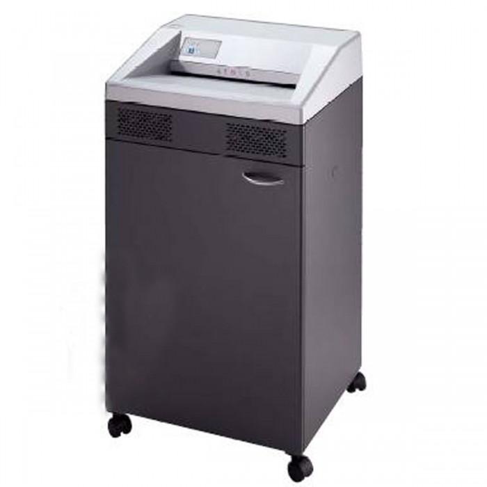 Fragmentadora de Papel EBA 5140S - Corta 45 folhas em Tiras de 3,8mm / CD / cartão / clips / grampos / passaporte, fenda 405 mm, cesto de 140 litros, nível de segurança 02