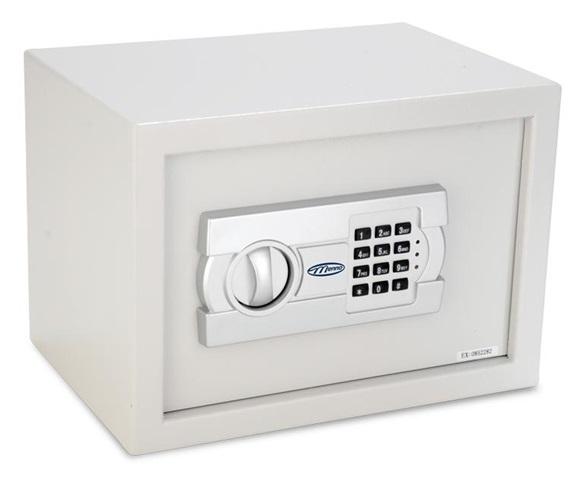 Cofre Eletronico Menno 20EG Dim.Externas:A200 x P200 x L310mm - Dim.Internas:A190 x P175 x L290mm 10Kg