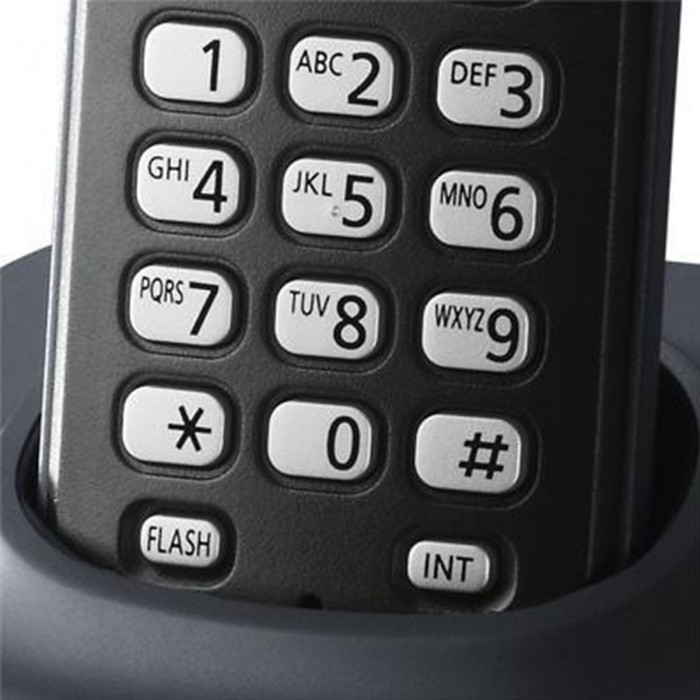 Telefone Sem Fio Panasonic DECT 6.0 KX-TG1381LBH-BK