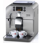 Cafeteira Automática Gaggia Brera Prata, com moedor em cerâmica, display em 3 cores, bomba de pressão de 15 bar 110V