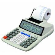 Calculadora Copiatic LP-107 Visor e Impressora bicolor de 12 dígitos, Imprime 2 lps, adaptador bivolt incluso
