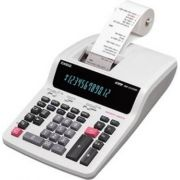 Calculadora Casio PRINTER DR-120TM-WE-BA-UDH 12 dígitos com bobina 4.4  220v
