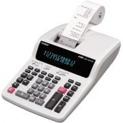 Calculadora Casio PRINTER DR-210TM-WE-B-E-DC 12 d�gitos com bobina 4.4  220v