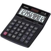Calculadora de mesa Casio DZ-12S-S4-DP Preto 12 D�gitos, Solar e Bateria