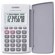 Calculadora de Bolso Casio HL-820LV-WE Branca, 8 D�gitos com Tampa