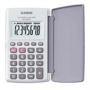 Calculadora de Bolso Casio HL-815L-WE-S4-DP Branca, 8 D�gitos, 4 Opera��es