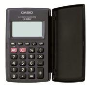 Calculadora de Bolso Casio HL-820LV-BK-S4-DH Preta, 8 D�gitos com Tampa