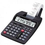 Calculadora Casio PRINTER HR-100TM-BK-AA4-DH Preta 12 dígitos, 2 linhas com fonte
