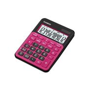 Calculadora de mesa Casio Colorful MS-20NC-BRD 12 dígitos, Big Display, Preta e Rosa