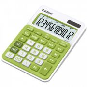 Calculadora de mesa Casio Colorful MS-20NC-GN  12 dígitos, Big display, verde