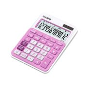 Calculadora de mesa Casio Colorful MS-20NC-PK 12 dígitos, Big display, rosa
