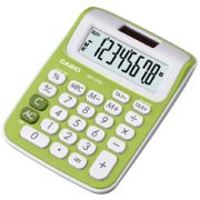 Calculadora de mesa Casio Colorful MS-6NC-GN 8 dígitos, Big Display, Verde